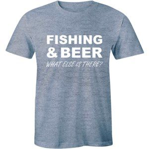 Fishing And Beer Perfect Day Funny Fisherman Shirt